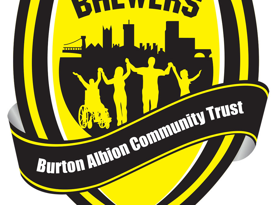 Proud Sponsors of Burton Albion Community Trust