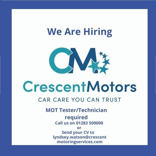 Crescent Motoring Services have a vacancy!
